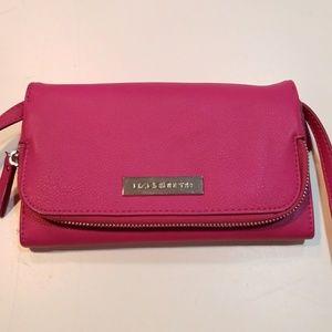 Pink Liz Claiborne hand bag/cross body bag